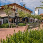 Commerces du centre-ville d'Hossegor