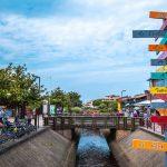 Commerces du centre-ville de Vieux-Boucau