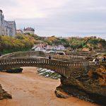 Pont et cathédrale de Biarritz