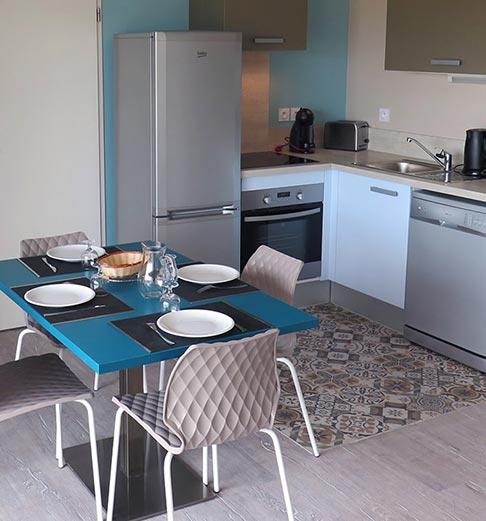 Photo d'un appartement de vacances dans la Résidence Les sables d'or à Vieux-Boucau