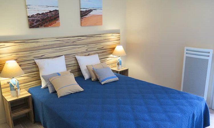 Seconde chambre double t4 résidence les sables d'or