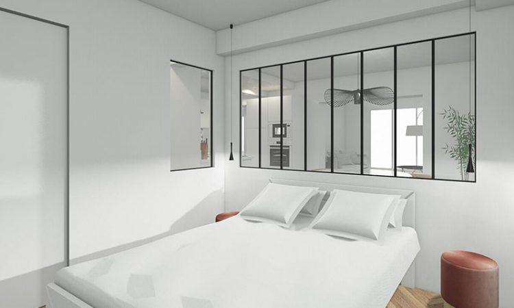 Chambre double t3 prestige résidence bellevue clémenceau