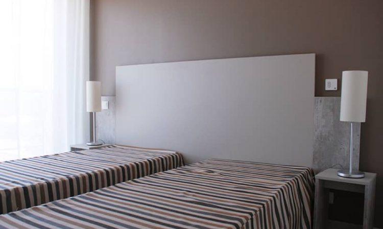 Chambre avec lits simples t3 prestige résidence plage centrale