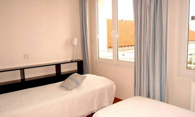 Chambre avec lits simples t3 prestige résidence bellevue clémenceau