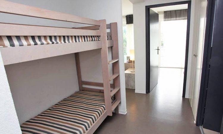 Cabine avec lits superposés t2 cabine résidence plage centrale