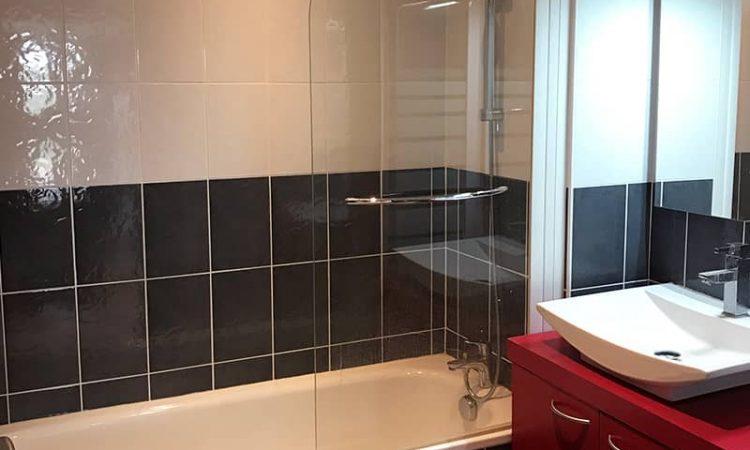 Salle de bain t3 luxe résidence plage centrale