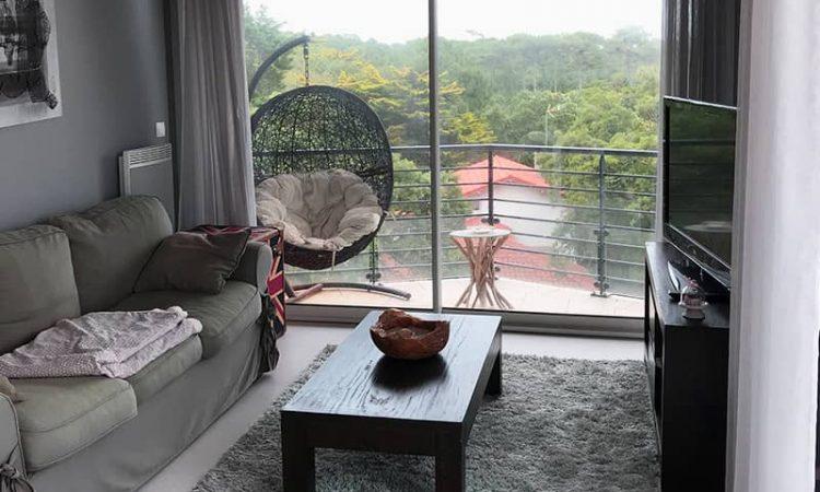 Salon t3 luxe résidence plage centrale
