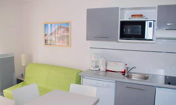 Séjour t2 classic résidence lagocéan
